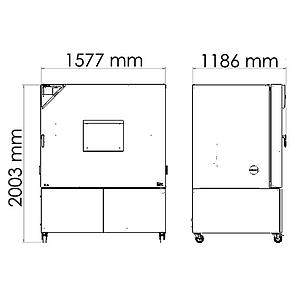 Package P « Enceinte climatique MKF720 – Spécial test de batterie sous tension » – Binder