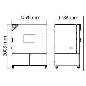 Package P « Enceinte climatique MKFT720 – Spécial test de batterie sous tension » – Binder