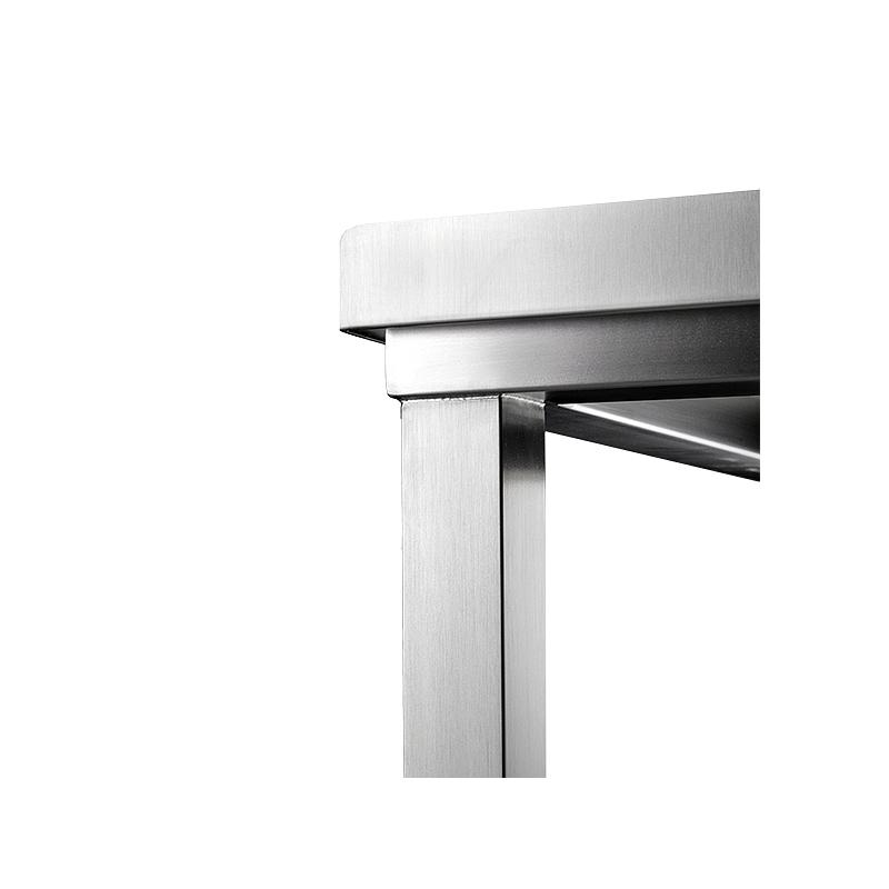 Paillasse inox soudée - Pharma Line - 1200 x 600 cm - Bano