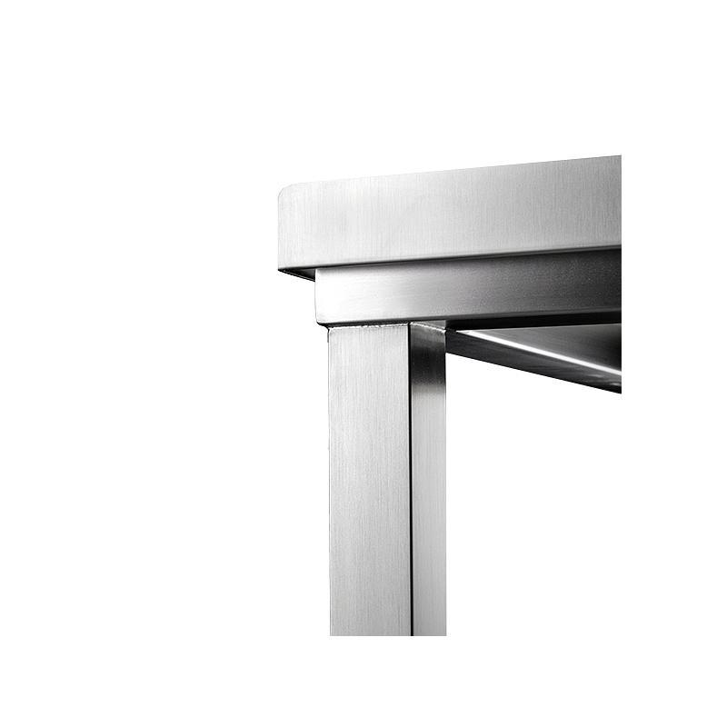 Paillasse inox soudée - Pharma Line - 600 x 600 cm - Bano