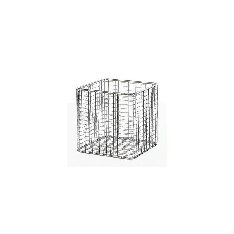 Panier en fil inox - Forme rectangulaire
