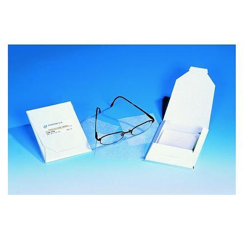 Papier d'essuyage optique - 200 x 300 mm - Fioroni
