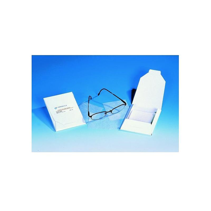Papier d'essuyage optique - 80 x 100 mm - Fioroni