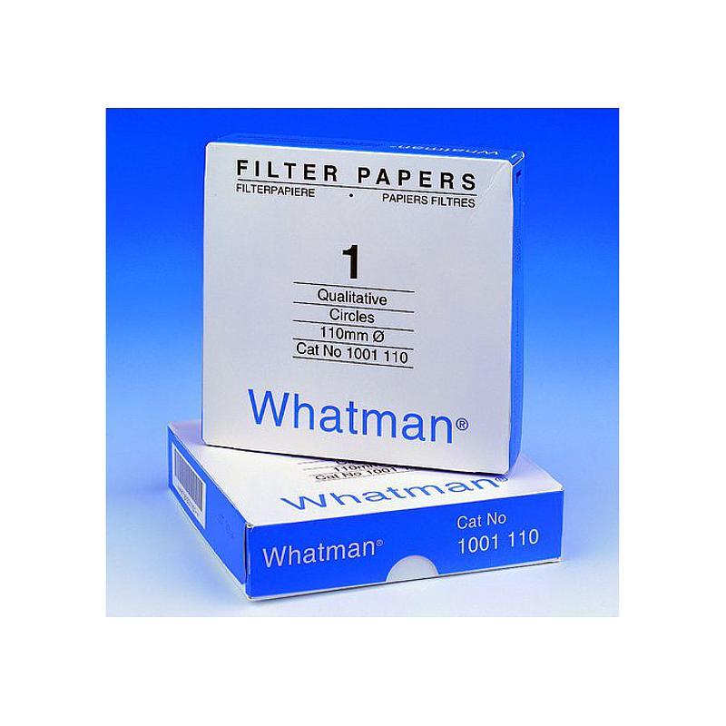Papier filtre qualitatif 47mm - boîte de 100 cercles - Whatman