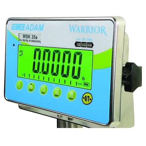 Pesage : balance étanche Warrior WLK 150 - ADAM