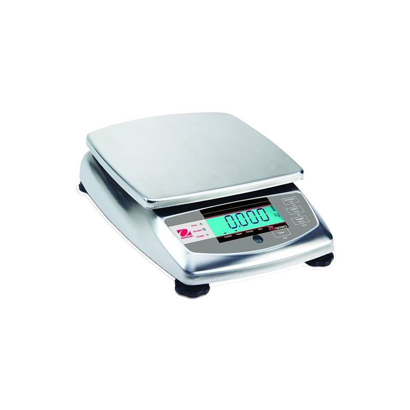 Pesage : balance inox agroalimentaire Ohaus FD15H Haute résolution Food Scale - OHAUS
