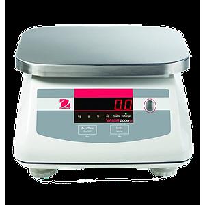 Pesage : balance inox agroalimentaire Ohaus Valor 2000 Xtreme haute résolution - OHAUS