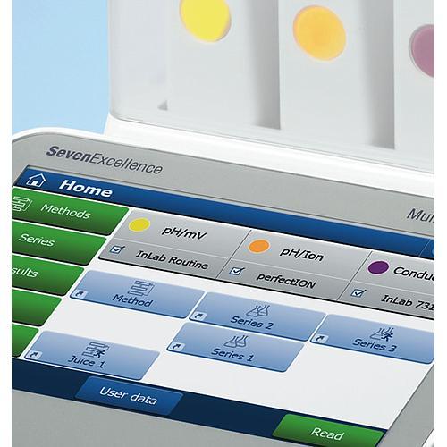 pH/Ionomètre SevenExcellence™ S500 - Kit standard - Mettler Toledo