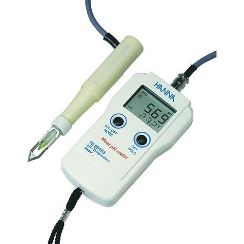 pH mètre électronique pour la viande - HANNA