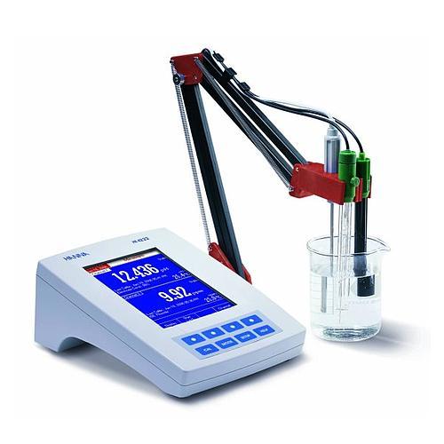 pH-mètre / ion-mètre de laboratoire HI 4222 - Hanna