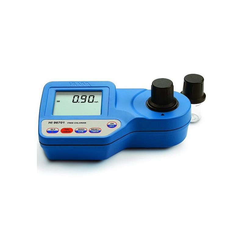 Photo-colorimètre portable - Chlore libre - Haute précision - HI 96701 - Hanna