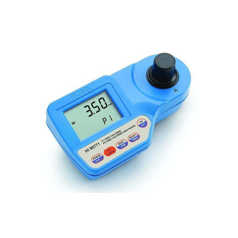 Photo-colorimètre portable haute précision - Chlore gamme ultra large - HI 96771C - Hanna