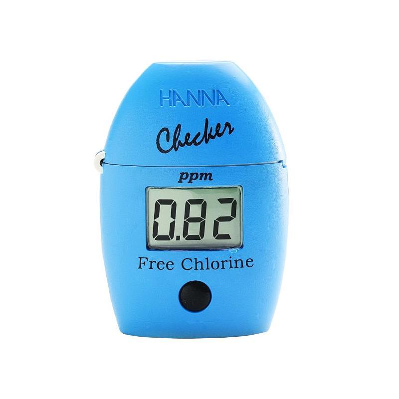 Photomètre de poche - Chlore libre ou total - HI 701 - Spécial Piscine -  Hanna