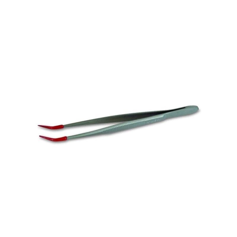 Pincette standard Inox coudée - Longueur 160mm