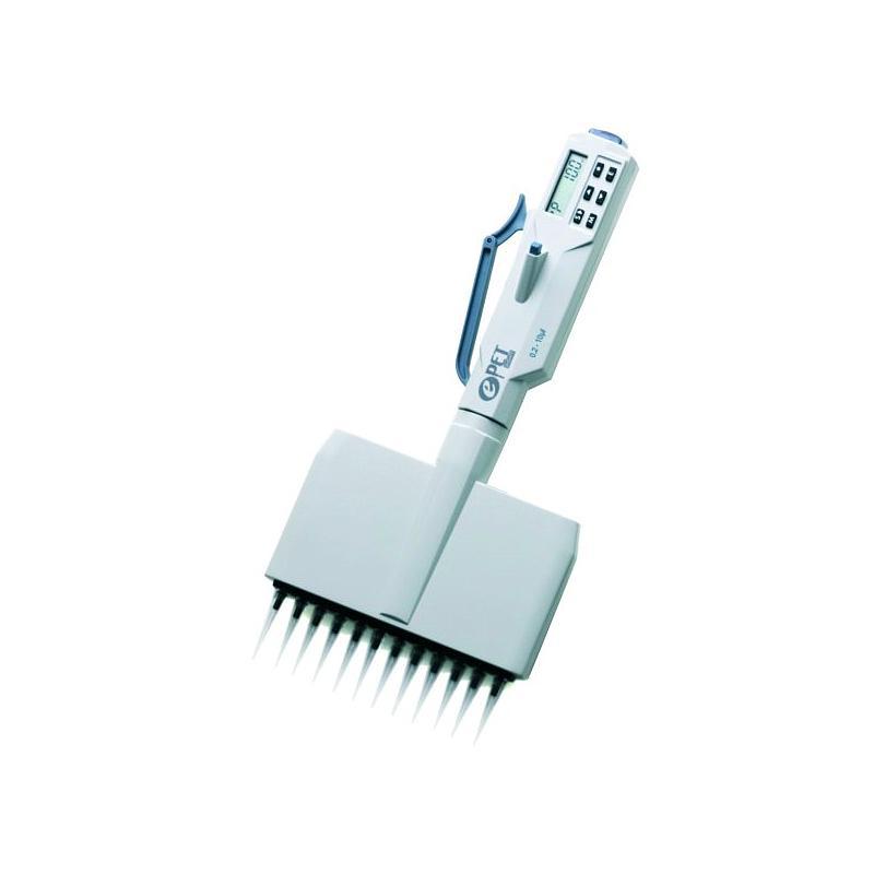 Pipette électronique multicanaux ePET - 12 canaux - 0.2...10 µl - Biohit