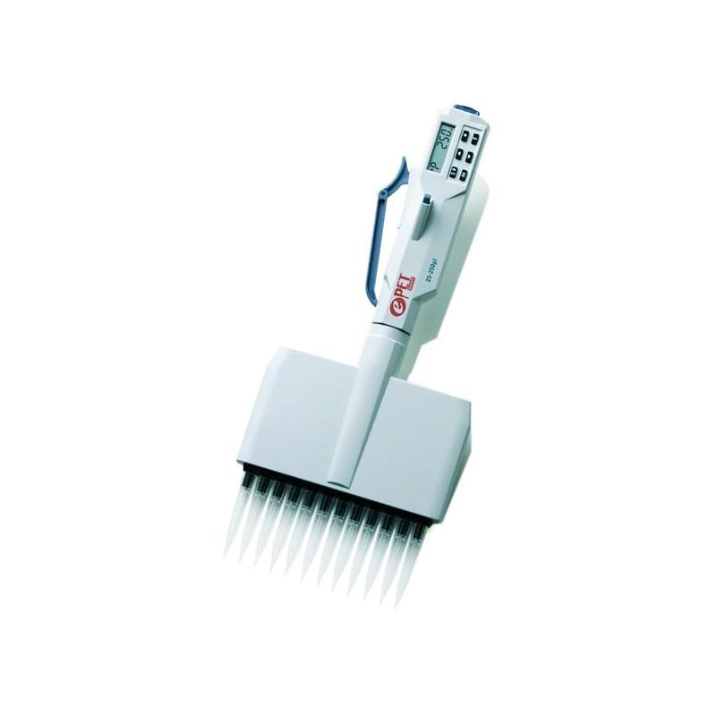 Pipette électronique multicanaux ePET - 12 canaux - 50...1200 µl - Biohit