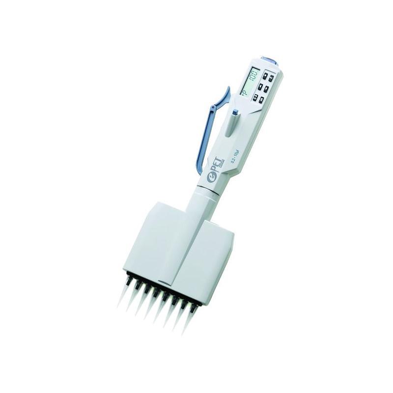 Pipette électronique multicanaux ePET - 8 canaux - 0.2...10 µl - Biohit