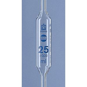 Pipette jaugée 1 trait - 1 ml - Lot de 6 - Brand