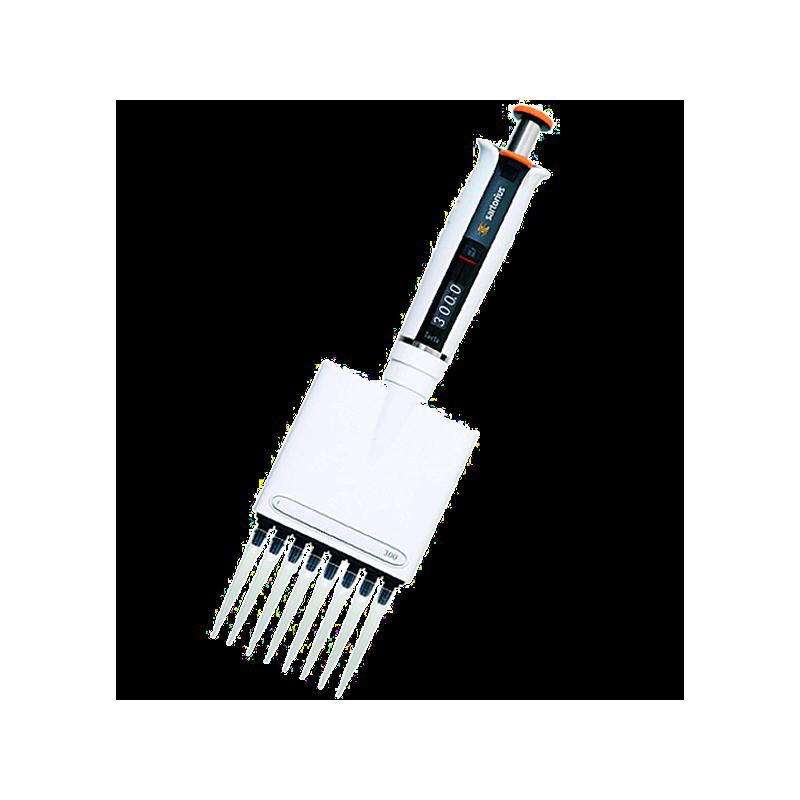 Pipette mécanique Biohit Tacta - 0.5-10 µl - 8 canaux - Sartorius