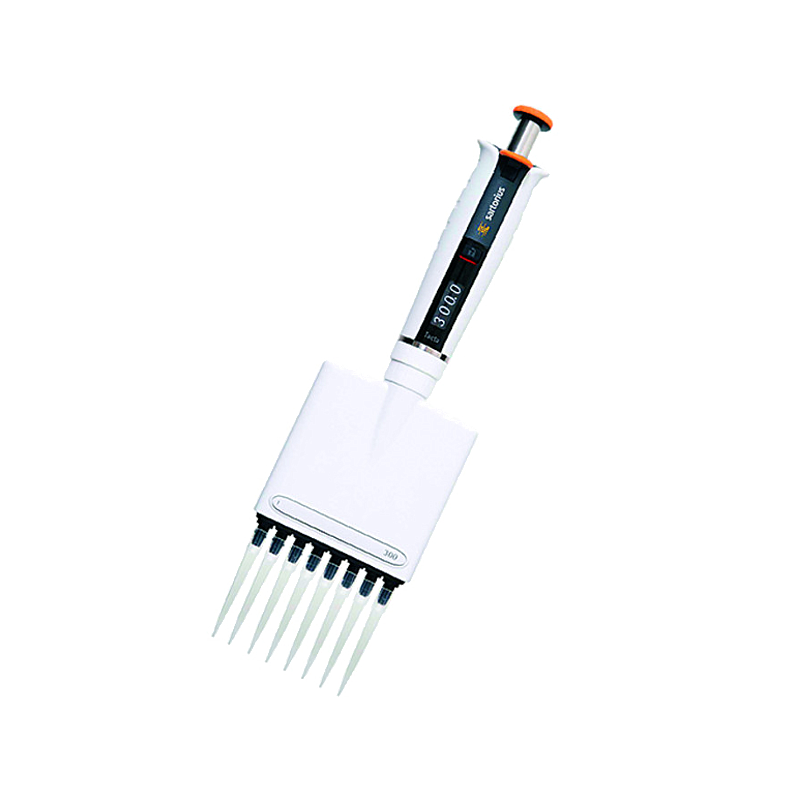 Pipette mécanique Biohit Tacta - 30-300 µl - 8 canaux - Sartorius
