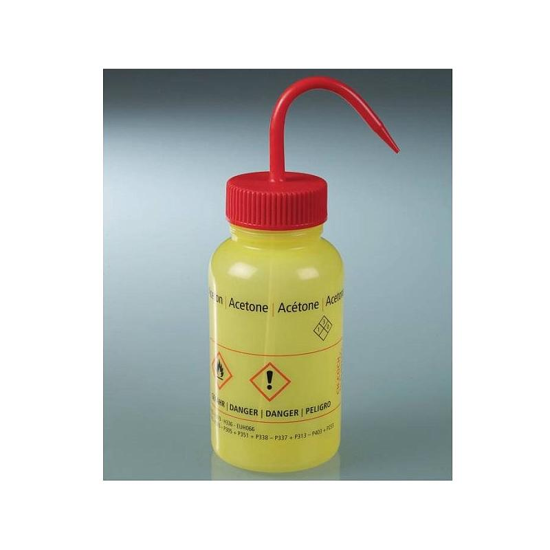 Pissette jaune - Acétone - Bürkle
