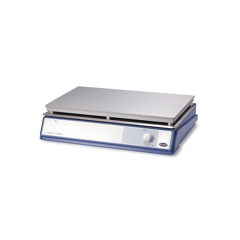 Plaque chauffante alliage aluminium / silicium - SB500 - 300 x 500 mm - Stuart