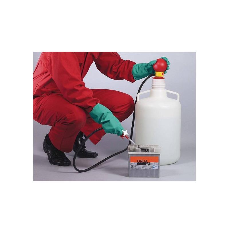 Pompe à main pour batterie - Bürkle