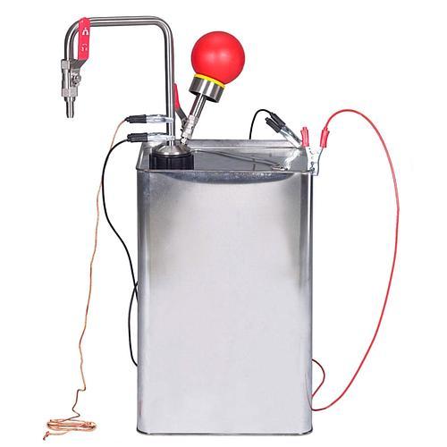 Pompe à solvant à commande manuelle, fermeture à soufflet, ATEX - Bürkle