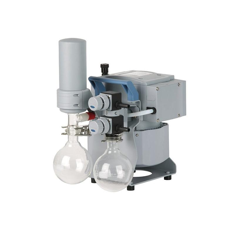 Pompe à vide - Groupe de pompage chimique MZ 2C NT + AK Synchro + EK - Vacuubrand