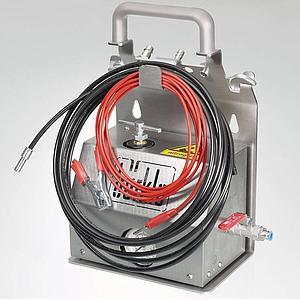 Pompe de prélèvement pour solvants, ATEX - Coude de sortie - Bürkle