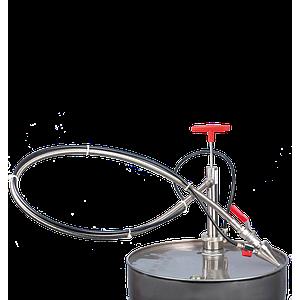 Pompe vide-fût hermétique, inox - Bürkle