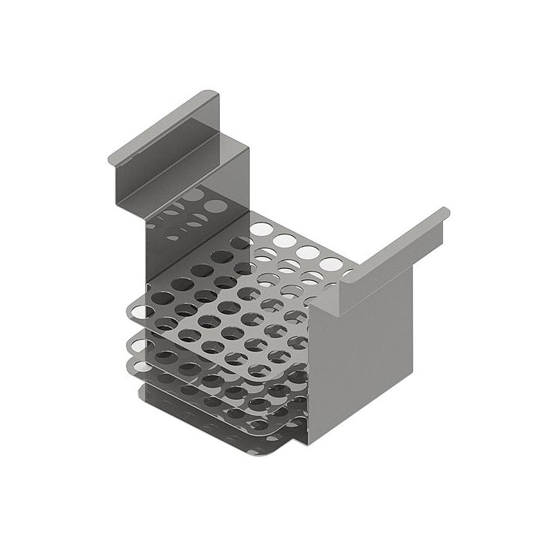 Portoir inox pour 42 tubes 40 x Ø10/11 mm - max 150 °C - Julabo