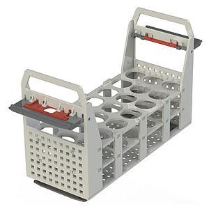 Portoir plastique pour 21 tubes Ø30 mm - max 100 °C - Julabo