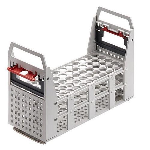 Portoir plastique pour 60 tubes Ø16/17 mm - max 100 °C - Julabo