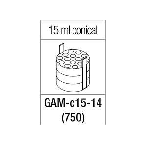 Portoir pour 14 tubes coniques de 15 ml - Gyrozen