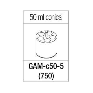 Portoir pour 5 tubes coniques de 50 ml - Gyrozen