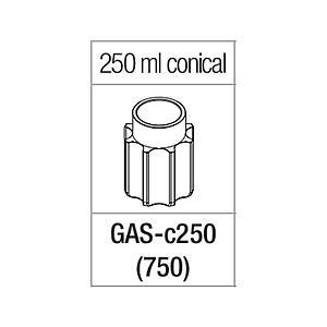 Portoir pour tube à fond conique de 250 ml - Gyrozen