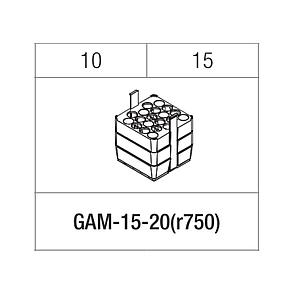 Portoir rectangulaire pour 20 tubes 10 / 15 ml - Gyrozen
