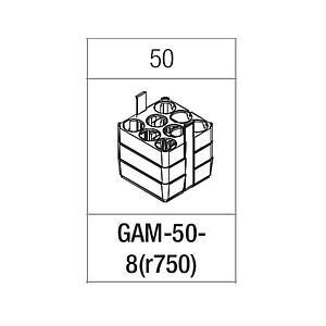 Portoir rectangulaire pour 8 tubes 50 ml - Gyrozen