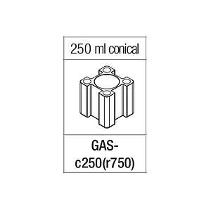 Portoir rectangulaire pour tube conique de 250 ml - Gyrozen
