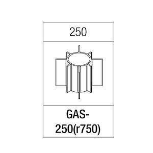 Portoir rectangulaire pour tube de 250 ml - Gyrozen