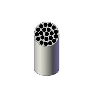 Portoir réducteur pour 21 tubes Vacu - 13 x 75 mm