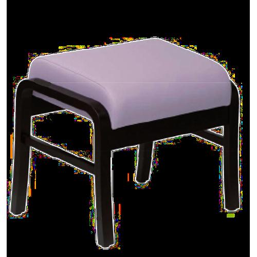Pouf Relax en bois, couleur souris - Kango