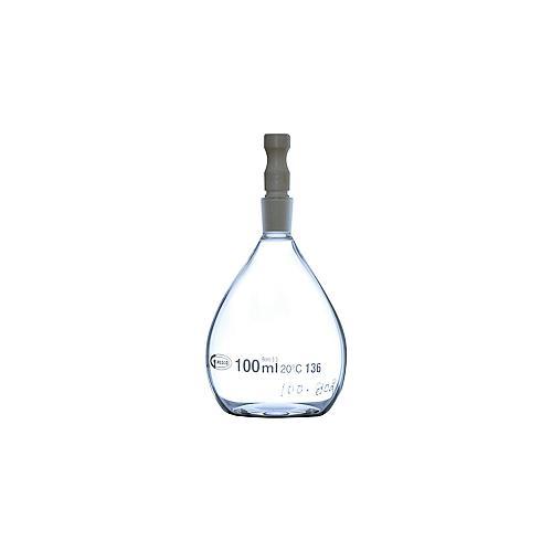 Pycnomètre verre pour liquide type Gay Lussac - 25 ml - Lot de 2