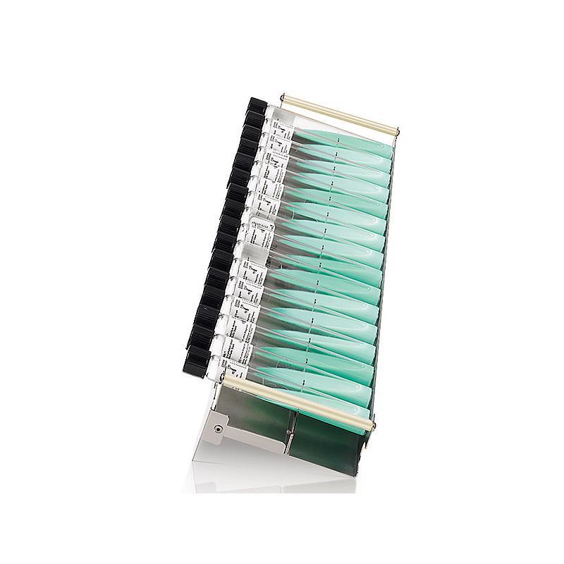 Racks XL Lowenstein pour 16 tubes 126 - 170 mm - Ø 15-20 mm - Hettich