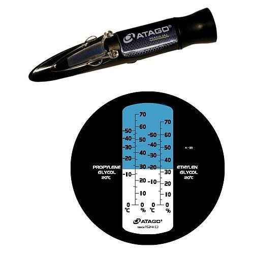 Réfractomètre à main : réfractomètre Atago Master-BC