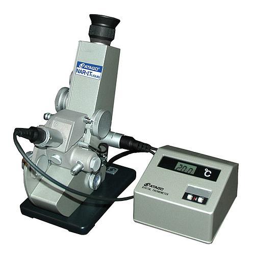 Réfractomètre d'Abbe NAR-1T LIQUID pour mesure d'échantillons liquides - ATAGO