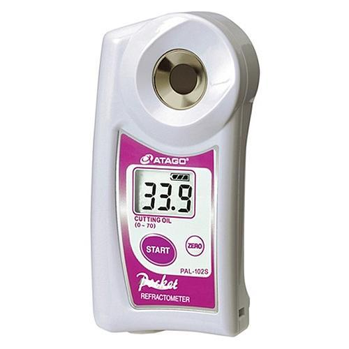 Réfractomètre digital : réfractomètre huile de coupe Atago PAL-102S