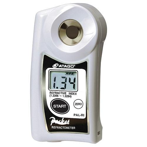 Réfractomètre numérique : réfractomètre Atago PAL-RI pour l'indice de réfraction