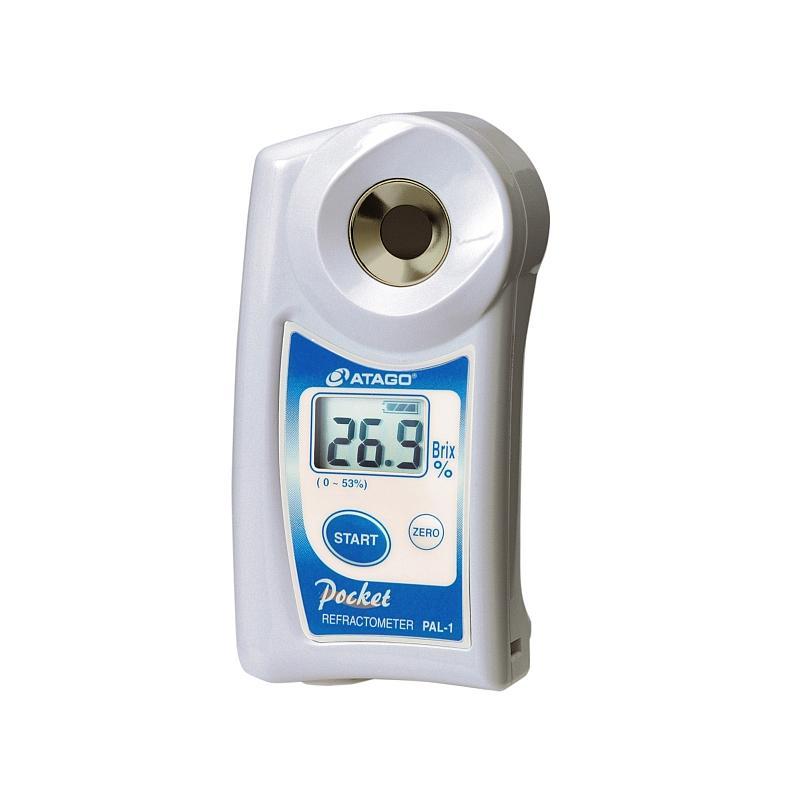 Réfractomètre numérique : réfractomètre PAL-1 pour la teneur en sucre - ATAGO